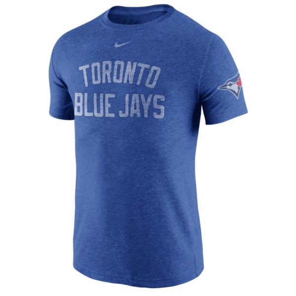 Men's Nike Toronto Blue Jays Tri-Blend DNA Tee