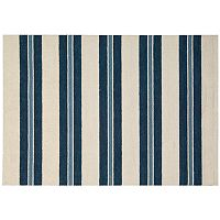 Nourison Barclay Butera Oxford Awning Stripe Wool Rug