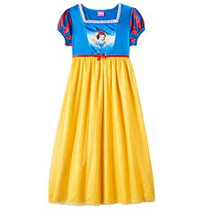 Disney's Snow White Dress-Up Nightgown Girls 4-8