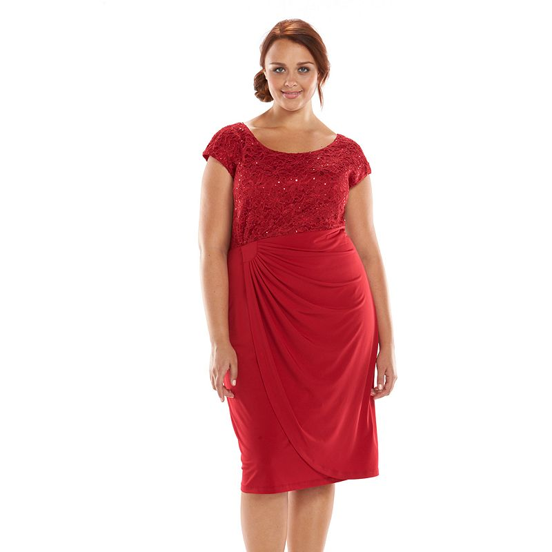 PlusSize Wrap Dresses ON SALE