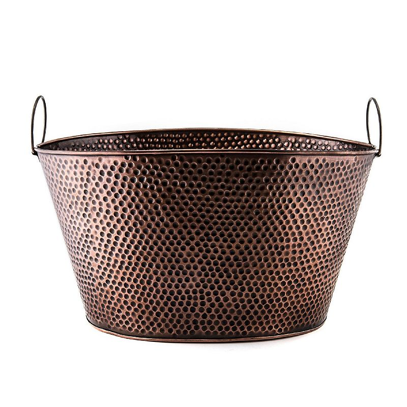 Old Dutch Antique Copper Dots 18-in. Party Tub