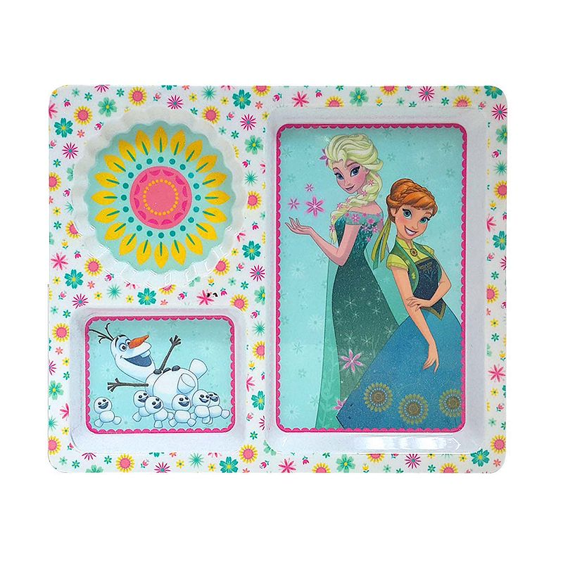 Disney's Frozen Divided Melamine Plate by Jumping Beans®