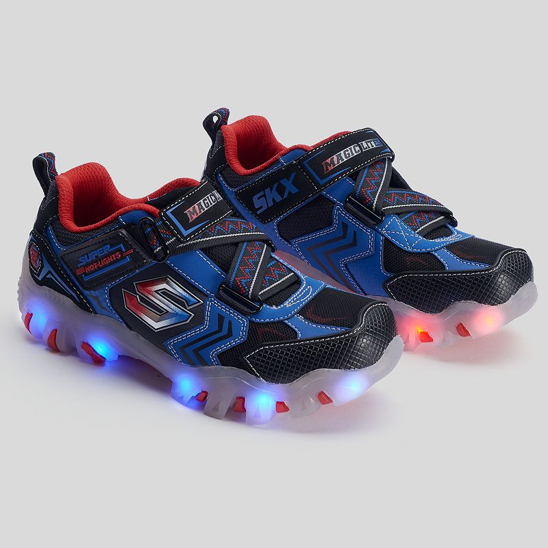 skechers street lightz switches boys 39 light up athletic shoes. Black Bedroom Furniture Sets. Home Design Ideas