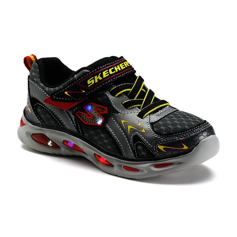 skechers ipox rayz boys 39 s lights light up athletic shoes boy 39 s siz. Black Bedroom Furniture Sets. Home Design Ideas