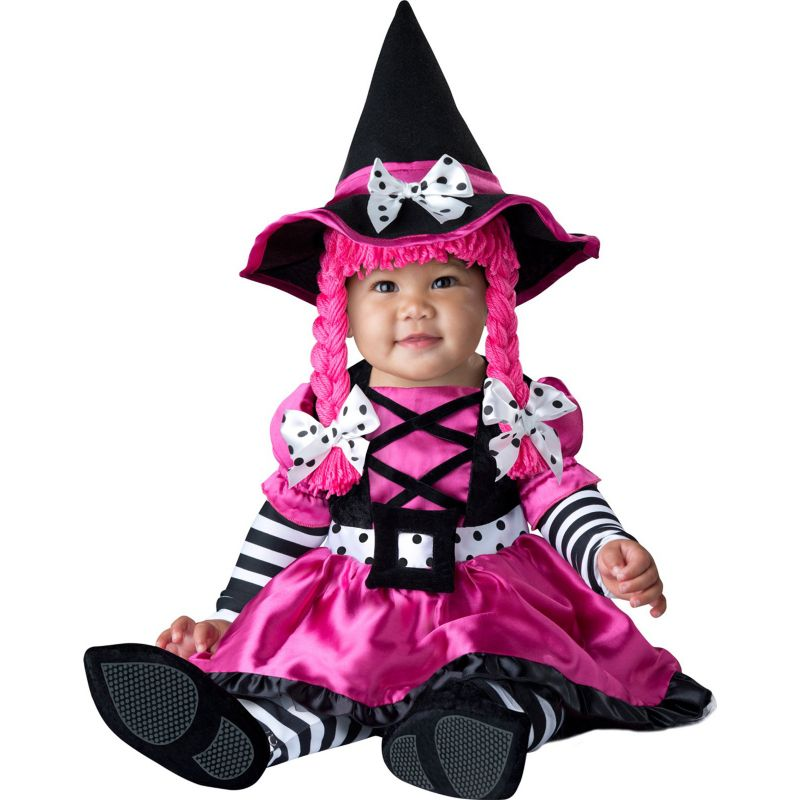 Witch Costume - Baby (Pink/White/Black)