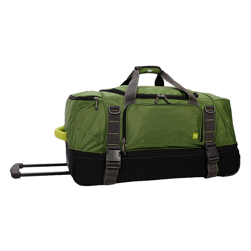 Dockers® 30-Inch Wheeled Drop-Bottom Duffel Bag