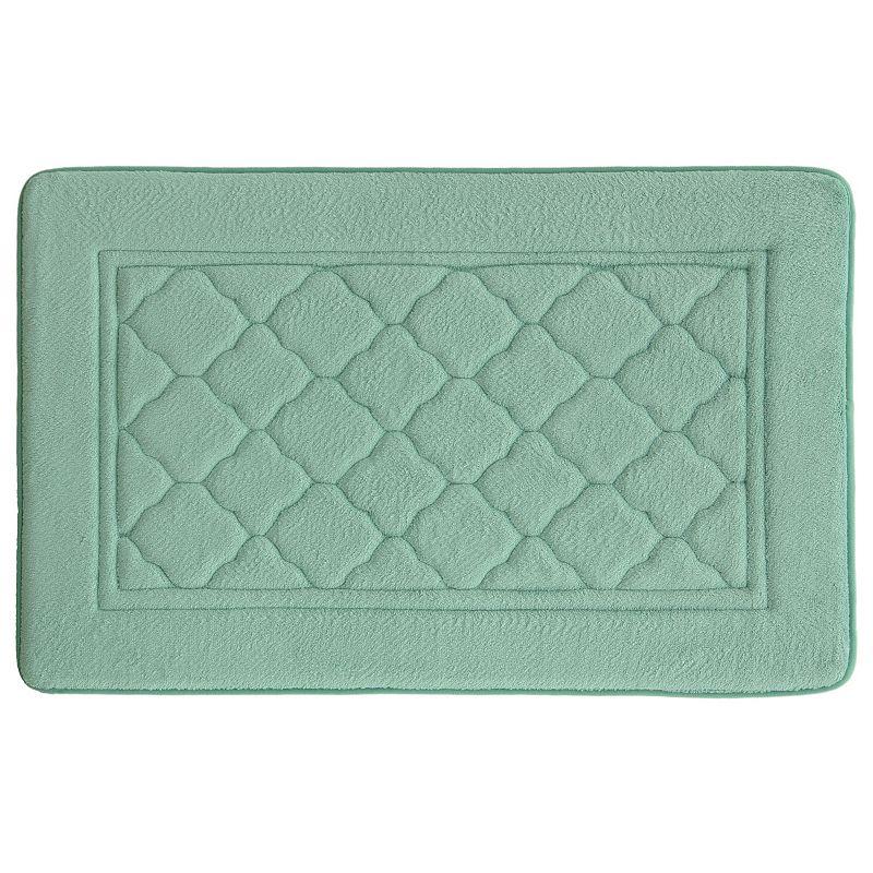 Bacova Florence Antimicrobial Memory Foam Bath Rug - 20'' x 32''