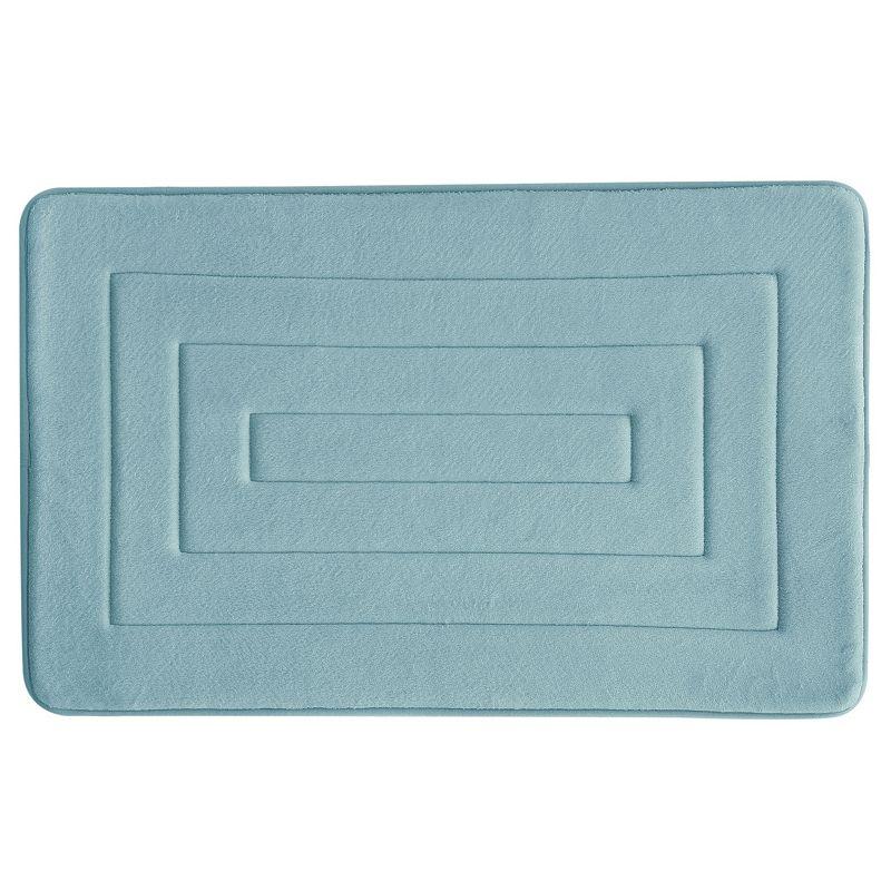 Bacova Concentric Antimicrobial Memory Foam Bath Rug - 20'' x 32''