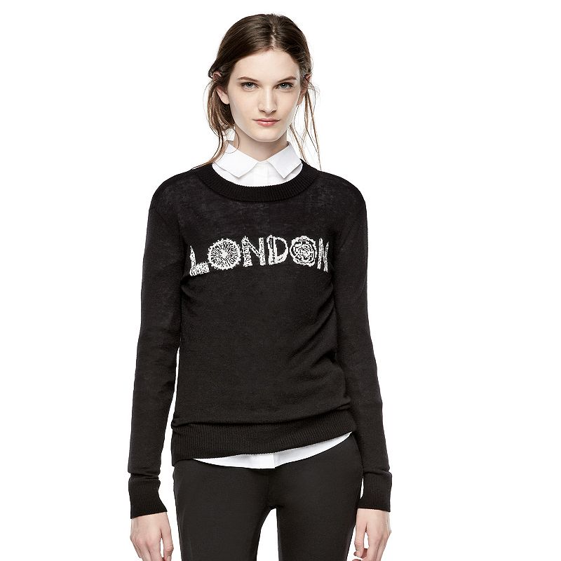 Thakoon for DesigNation Iconic Graphic Crewneck Sweater - Women's