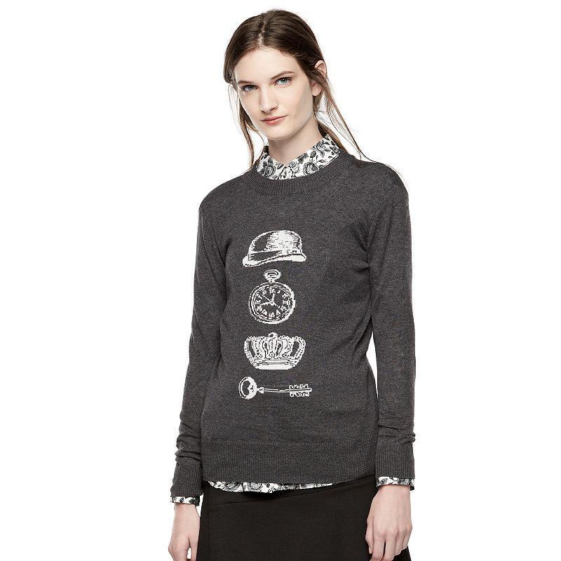 Thakoon for DesigNation Iconic Graphic Crewneck Sweater - Women's