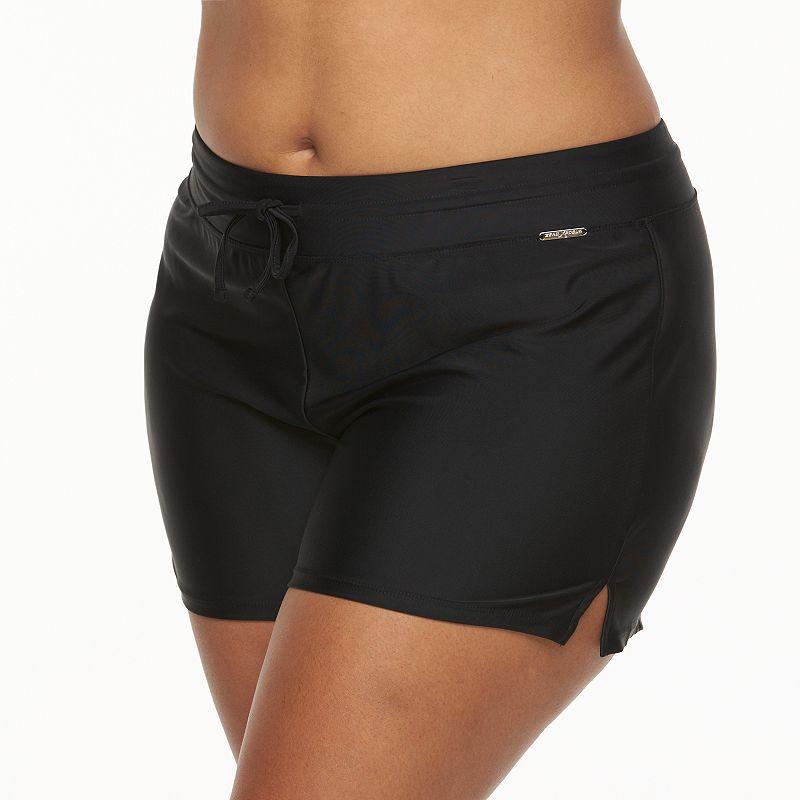 Plus Size ZeroXposur Swim Shorts Bottoms