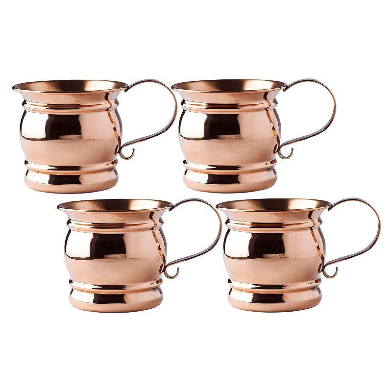 Old Dutch 4-pc. Copper Moscow Mule Mug Set
