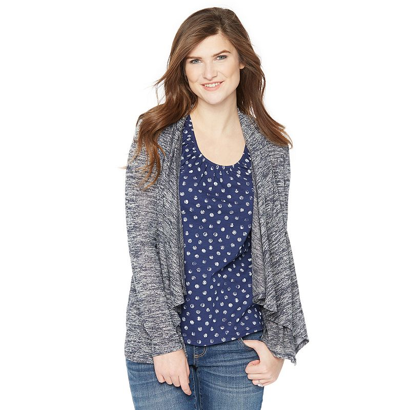 Maternity Oh Baby by Motherhood™ Draped Nursing Cardigan