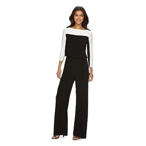 Women's Chaps Colorblock Jumpsuit