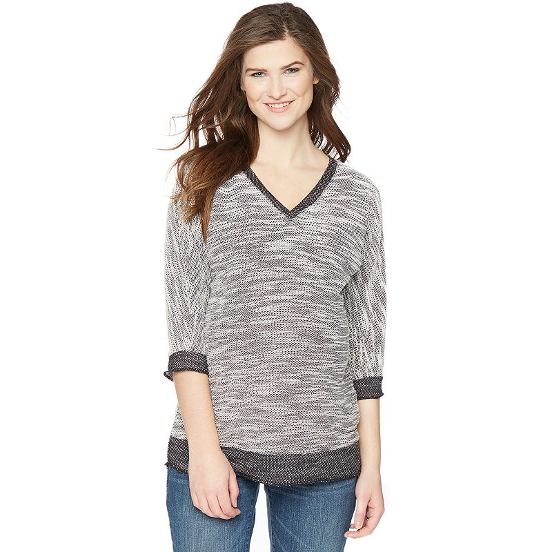 Maternity Oh Baby by Motherhood™ French Terry Dolman Top