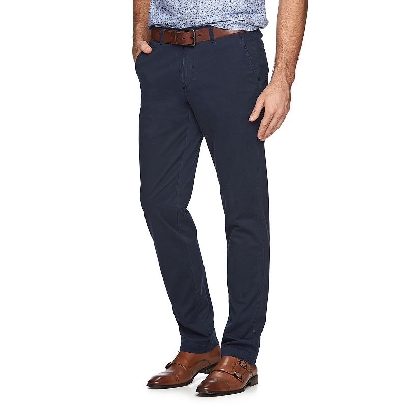 Marc Anthony Slim-Fit Stretch Chino Pants - Men