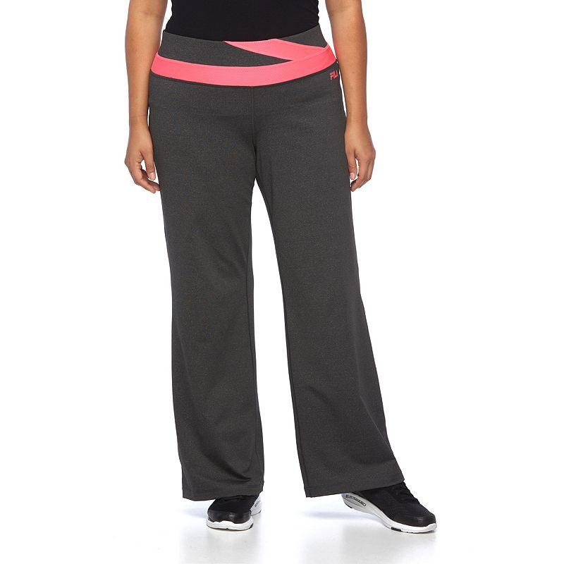 Plus Size FILA SPORT® Flash Flared Workout Pants