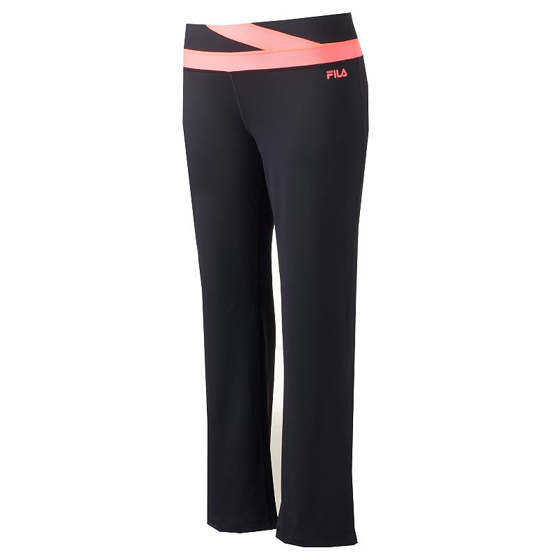 Plus Size FILA SPORT® Flash Flared Workout Pants