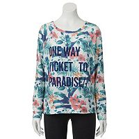 Juniors' SO® Graphic Print Sweatshirt