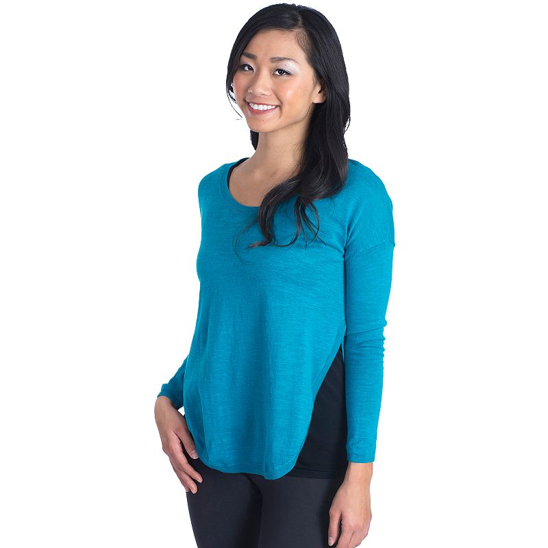 Women's Soybu Zahra Slubbed Colorblock Sweater