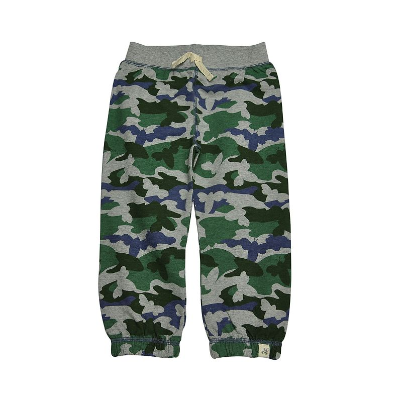 Toddler Boy Burt's Bees Baby Organic French Terry Camo Pants