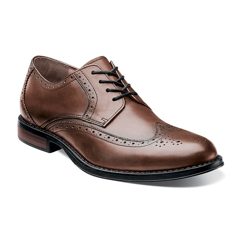 Nunn Bush Ryan Men's Wingtip Oxford Dress Shoes