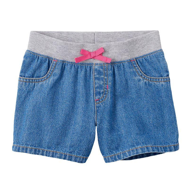 Jumping Beans® Toddler Girl Denim Shorts