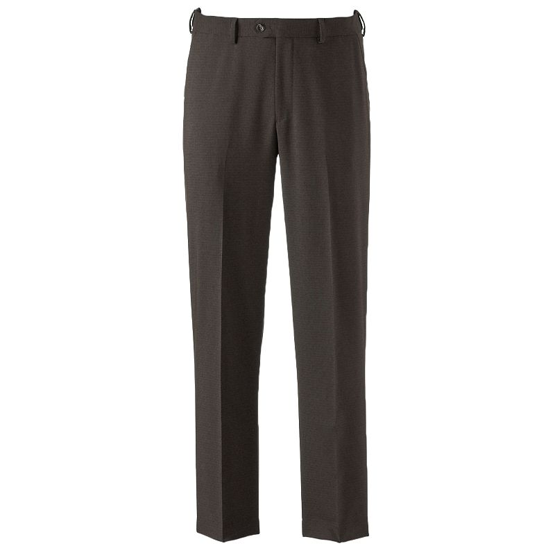 Men's Croft & Barrow® Classic-Fit True Comfort Windowpane Dress Pants