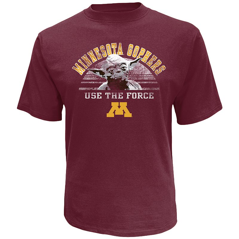 Men's Minnesota Golden Gophers Star Wars Yoda Force Tee