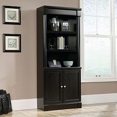 Sauder Avenue Eight Library 3-Shelf Bookcase by