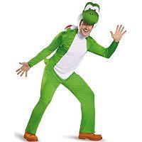 Super Mario Bros. Yoshi Costume - Adult