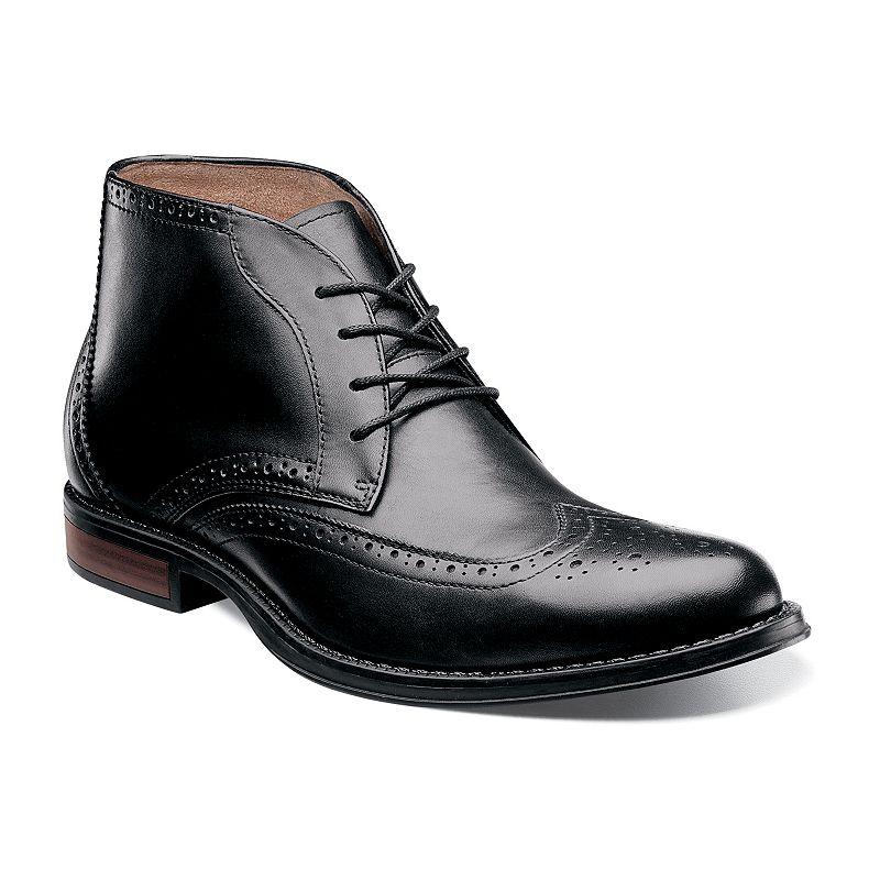 Nunn Bush Rawson Men's Wingtip Chukka Dress Boots