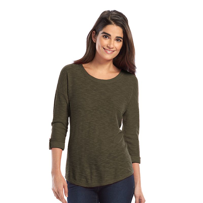 SONOMA Goods for Life™ Drop-Shoulder Crewneck Sweater - Women's