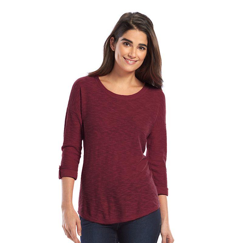 SONOMA Goods for Life™ Drop-Shoulder Crewneck Sweater - Women's
