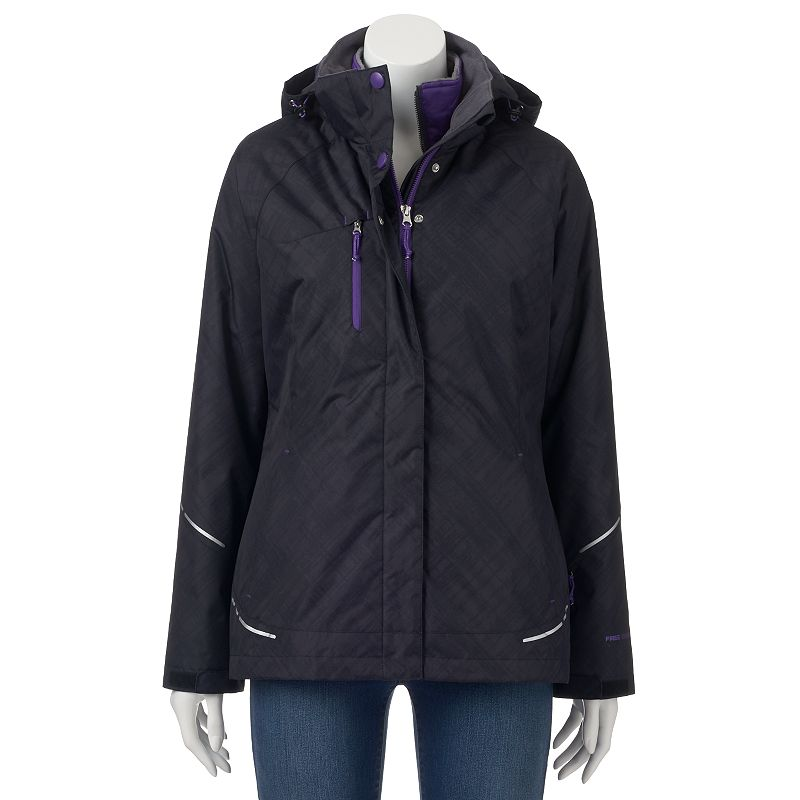 Women's Free Country Radiance Hooded 3-in-1 Systems Jacket