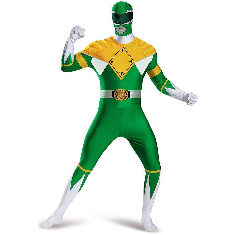 Mighty Morphin Power Rangers Green Ranger Costume - Adult