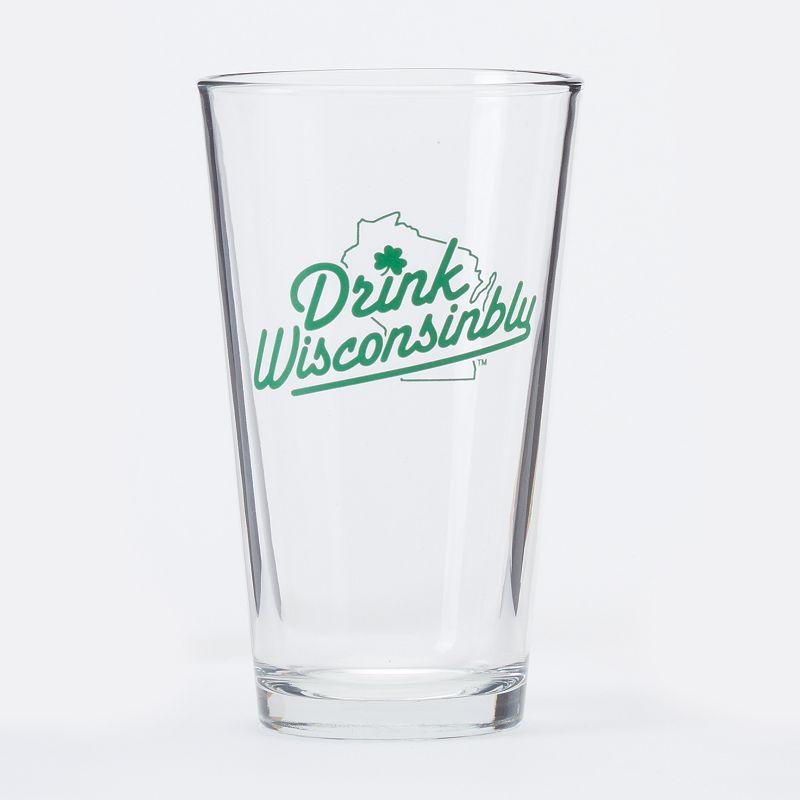 Drink Wisconsinbly 16-oz. Pint Glass