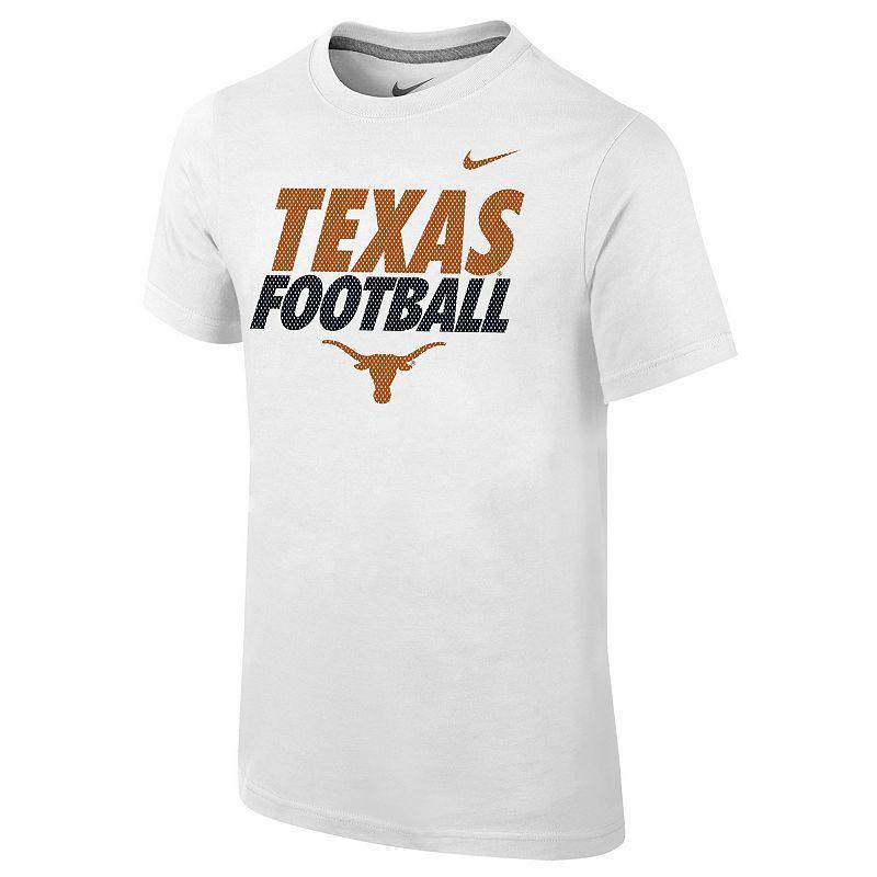 Boys 8-20 Nike Texas Longhorns Practice Tee