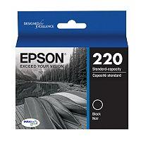 Epson T220 DURABrite Ultra Black Ink Cartridge