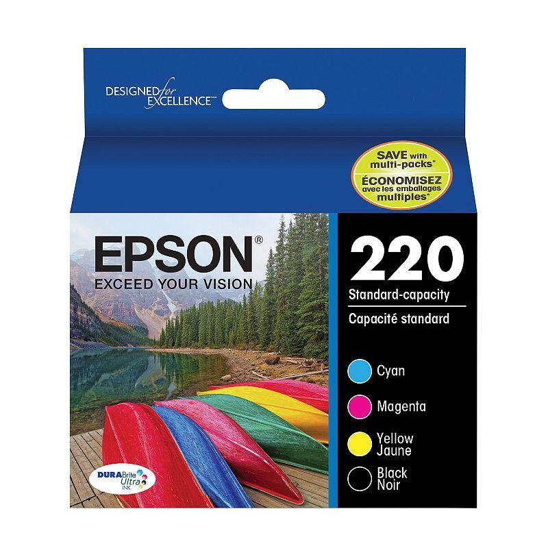 Epson T220 DURABrite Ultra Ink Cartridge (Black / Cyan / Magenta / Yellow)
