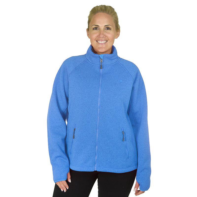 Plus Size Champion Sherpa-Lined Fleece Jacket