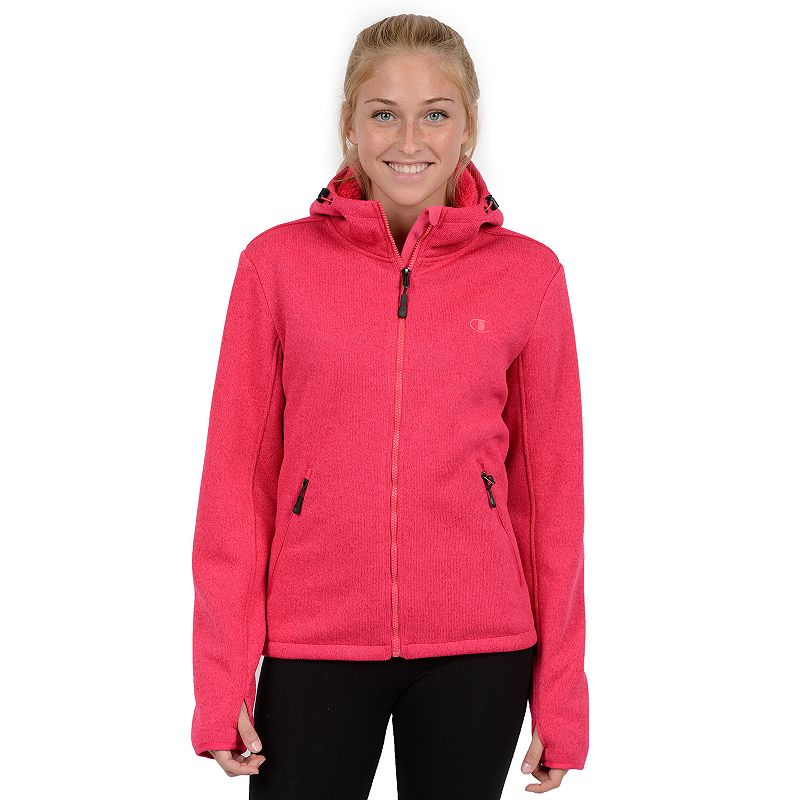 Women's Champion Hooded Faux-Sherpa Jacket