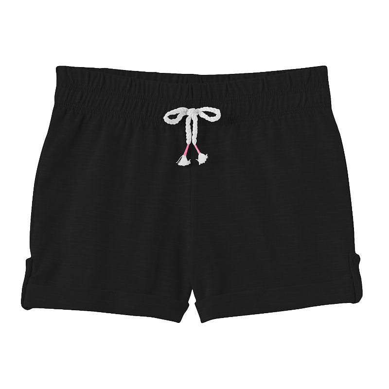Girls 4-7 Jumping Beans® Slubbed Shorts