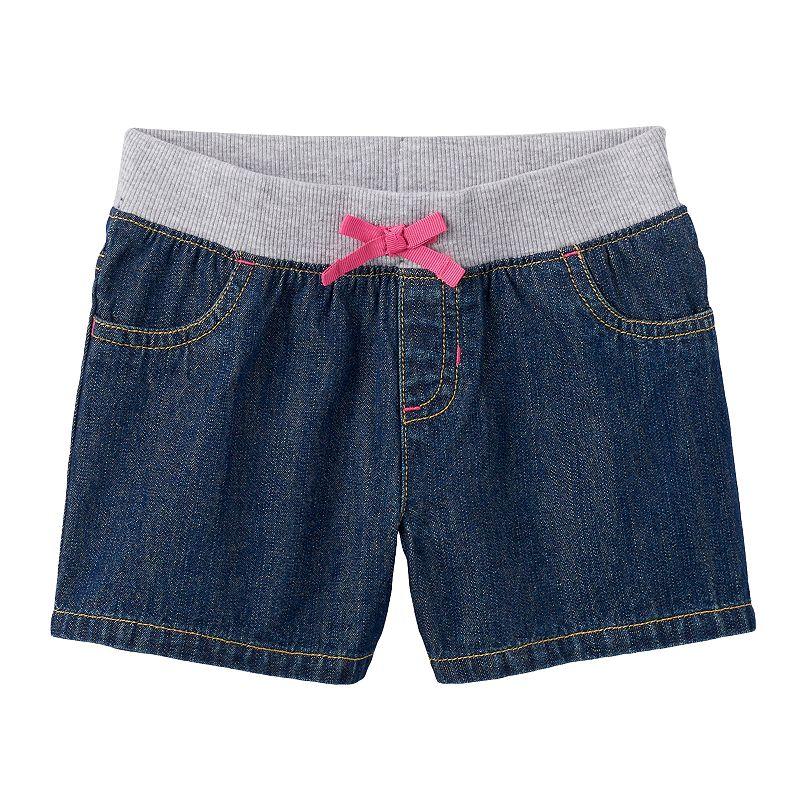 Girls 4-7 Jumping Beans® Denim Shorts