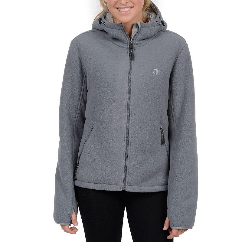 Plus Size Champion Hooded Fleece Jacket