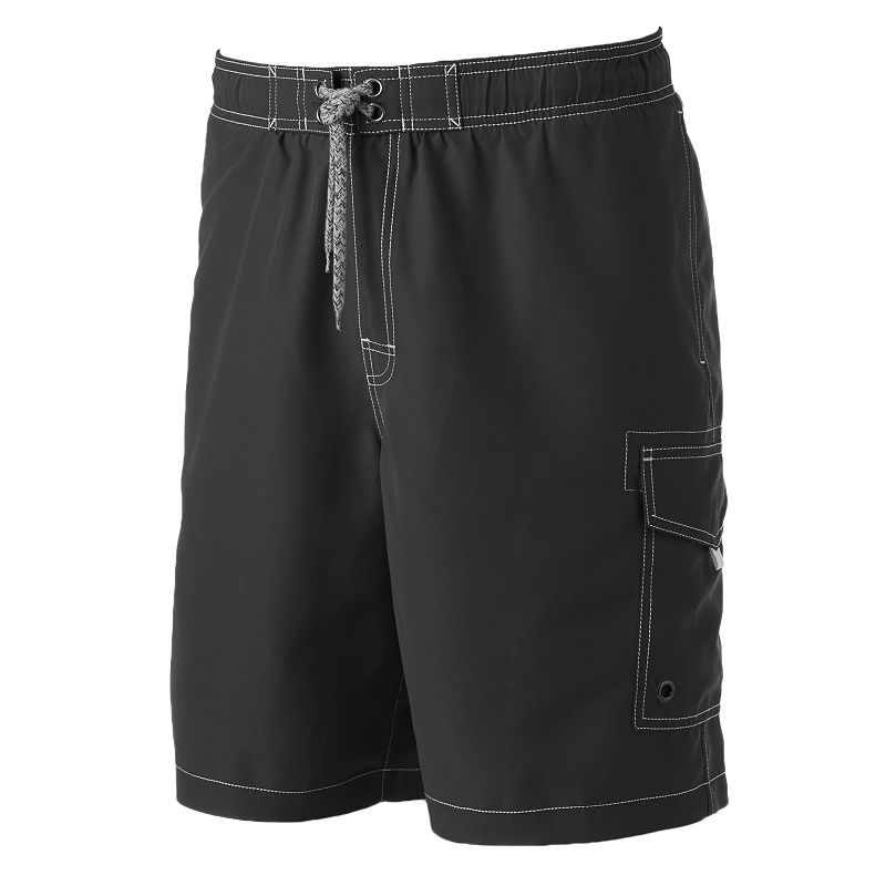 Men's SONOMA life + style® Solid Swim Trunks