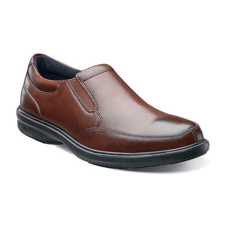 Nunn Bush Madison St. Men's Moc Toe Slip-On Dress Shoes