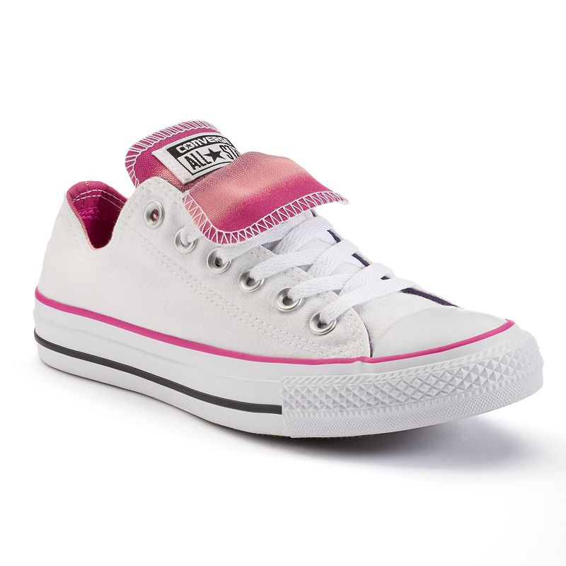 Women's Converse Chuck Taylor All-Star Double-Tongue Low-Top Sneakers
