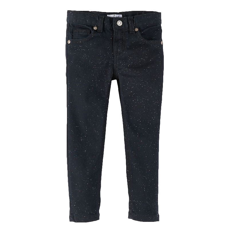 Jumping Beans® Toddler Girl Sparkly Skinny Jeans