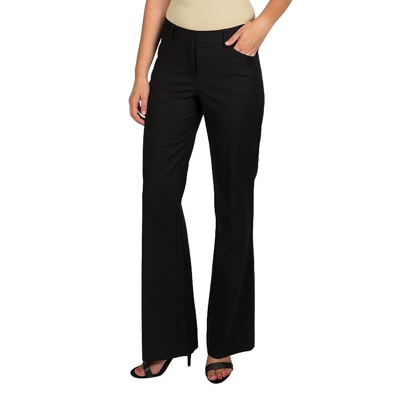 Women's Harve Benard Flare Dress Pants